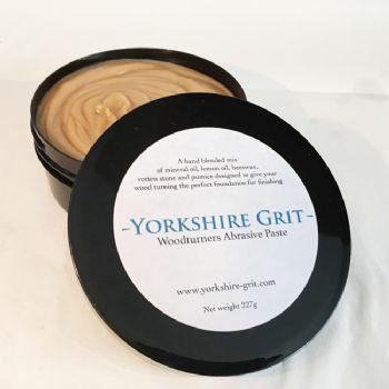 Yorkshire Grit woodturners abrasive paste